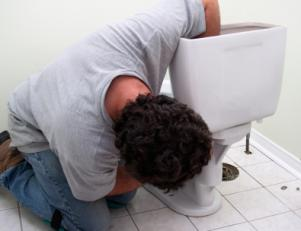 Jack who's an expert when it comes to plumbing in Takoma Park, MD is repairing a toilet